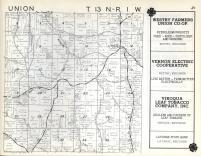 Union T13N-R1W, Vernon County 1960